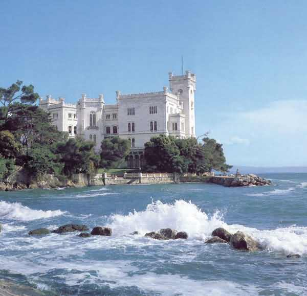 Picture of the Miramare Castle